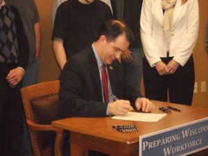 Gov Walker signing bill-2in